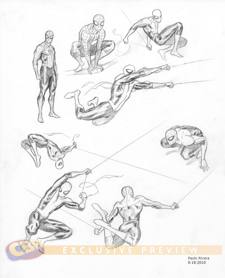 Concepts art de la prxima serie animada de SpiderMan Ultimate