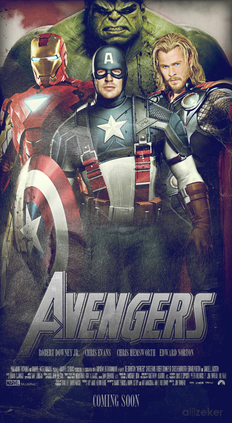 The Avengers - Los Vengadores 2012!!! -Marvel-