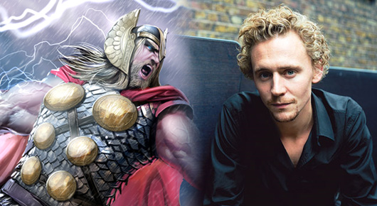 Tom Hiddleston, otro candidato a ser Thor