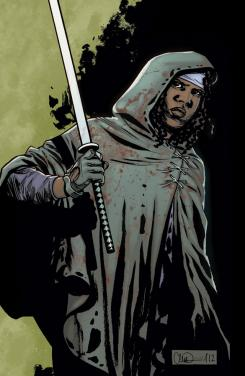 Imagen portada del cómic The Walking Dead: Michonne Special #1