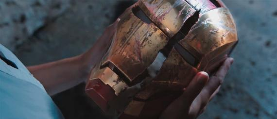Captura del primer trailer de Iron Man 3 (2013)