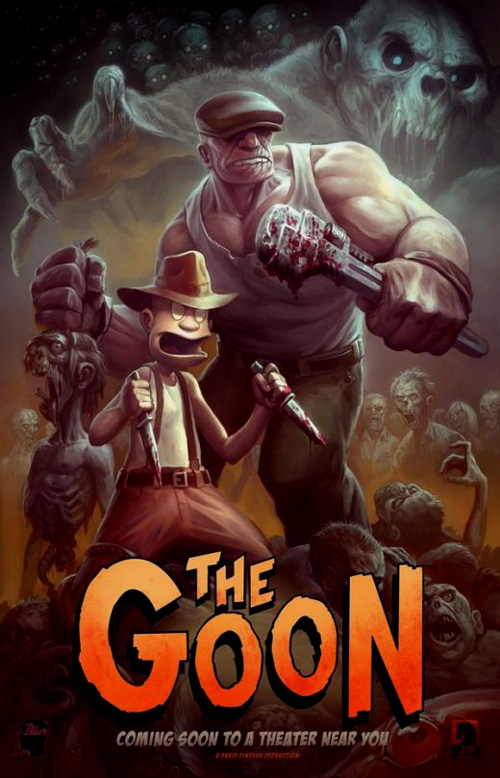 """The Goon"" póster"