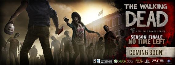 Promo del quinto episodio descargable del videojuego The Walking Dead