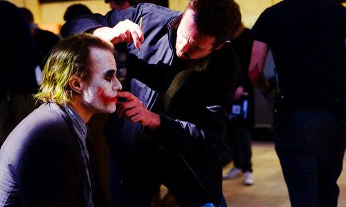 Imagen del set de The Dark Knight (2008)