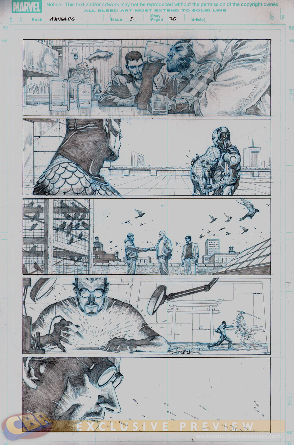Comic Book Cover Tutorial ~ Comics art comicartmaster jerome opeña interior artwork