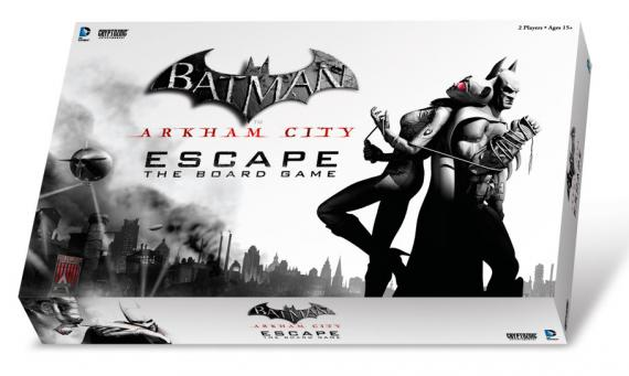 Caja del juego de mesa Batman: Arkham City Escape The Board Game (2013)