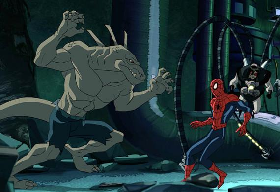 The Lizard en Ultimate Spider-Man