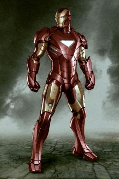 Concept art de Iron Man 2 de Adi Granov