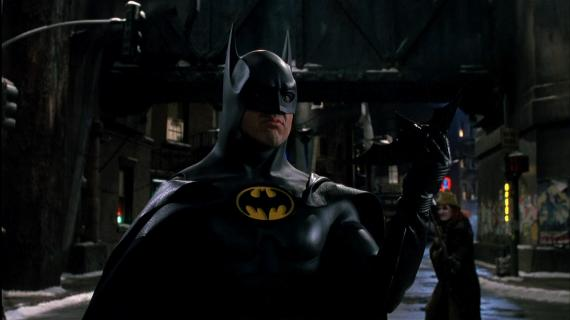 Michael Keaton como Batman en Batman Returns (1992)