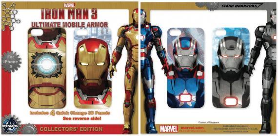 Fundas para el iPhone 5 con motivo de Iron Man 3 (2013)