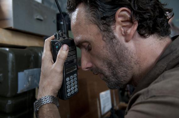 Imagen del episodio 3.12: Clear, de la tercera temporada de The Walking Dead (2012)