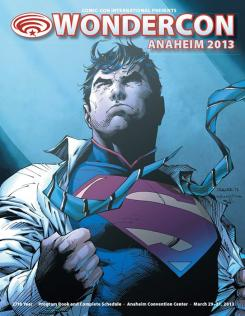 Cartel de la WonderCon Anaheim 2013 hecho por Jim Lee