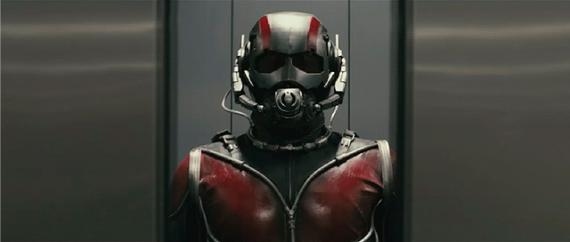 captura de Ant-Man (2015) del footage emitido en la San Diego Comic Con 2012