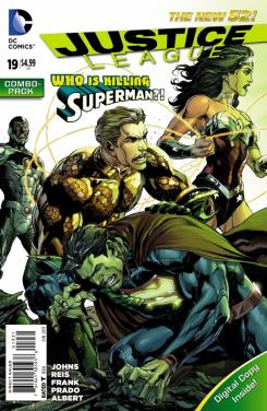 Justice League #19