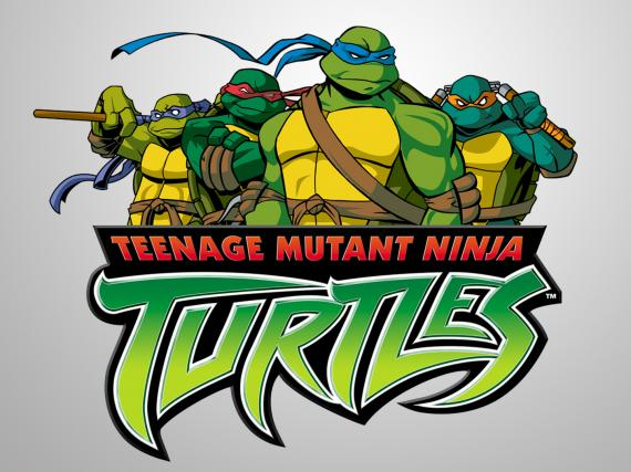 Imagen de la serie animada de la Tortugas Ninja