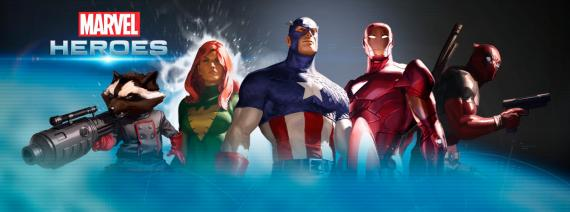 Imagen promocional del juego Marvel Heroes (2013)