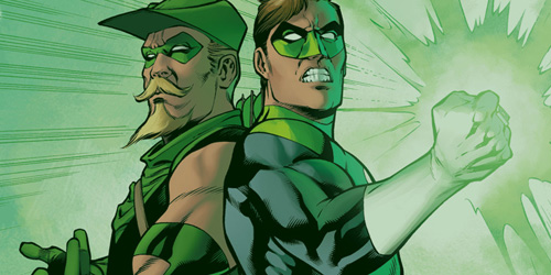 Green Arrow y Green Lantern