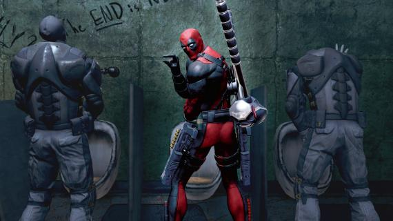 Captura del videojuego Masacre / Deadpool (2013)