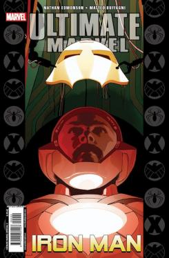 Portada del tomo Ultimate Marvel Especial 2 Iron Man publicado por Panini Cómic (abril 2013)