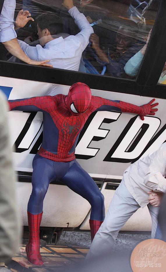 The Amazing Spider-Man 2: imagenes de Rhino