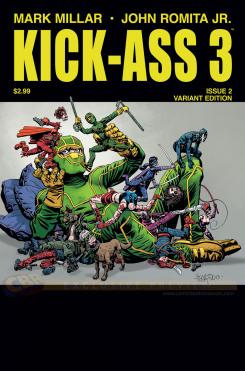 Portada alternativa de Kick-Ass 3 #2