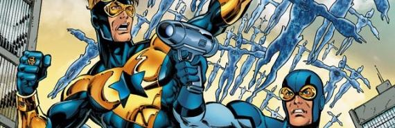 Booster Gold y Blue Beetle