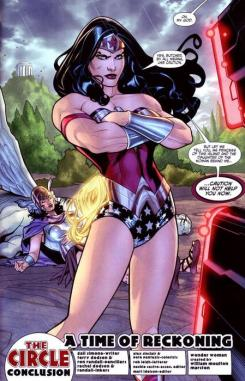 Wonder Woman en los cómics
