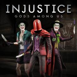 Skins alternativos de Joker para Injustice: Gods Among Us (2013), pack Killing Joke