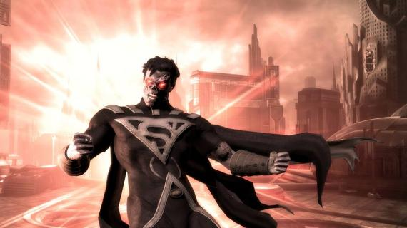 Superman de Blackest Night en Injustice: Gods Among Us