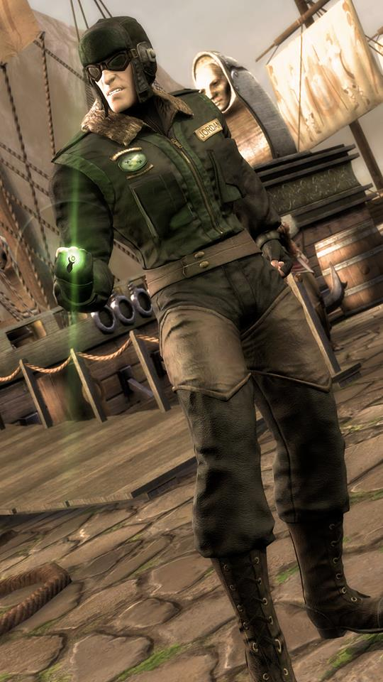 Green Lantern Red Son en Injustice: Gods Among Us