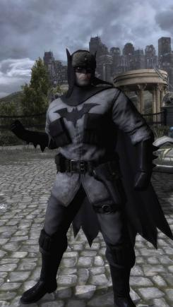 Skin de Batman de Red Son en el juego Injustice: Gods Among Us (2013)