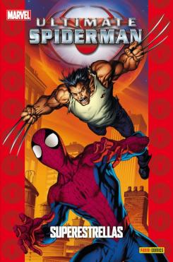 Ultimate Spider-Man: Superestrellas portada