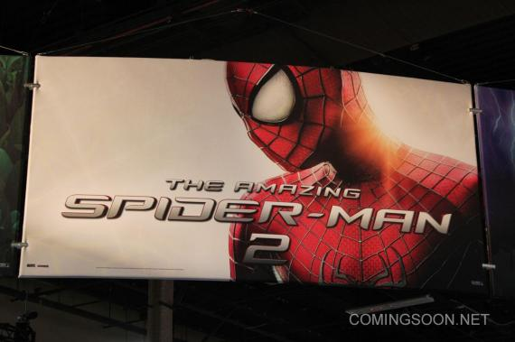 Póster de The Amazing Spider-Man 2 (2014) visto en la Licensing Expo 2013