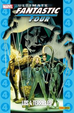 Ultimate Fantastic Four: Los Cuatro Terribles Portada