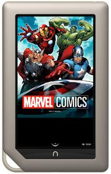 Marvel se une al Nook Table