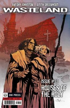 Portada del cómic Wasteland #33, de Oni Press