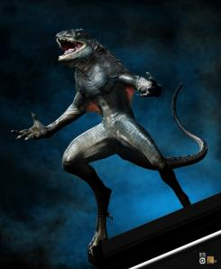 Concept art de The Amazing Spider-Man (2012), diseño alternativo de Lagarto por Scott Patton