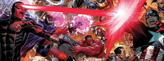 Marvel anuncia Avengers vs X-Men