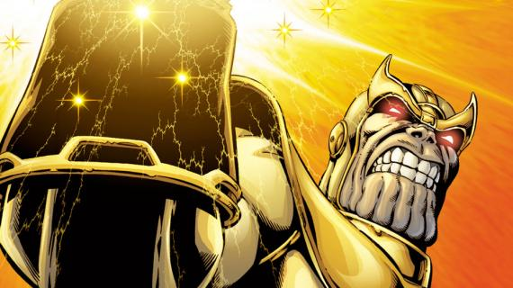 Thanos por Jim Starlin