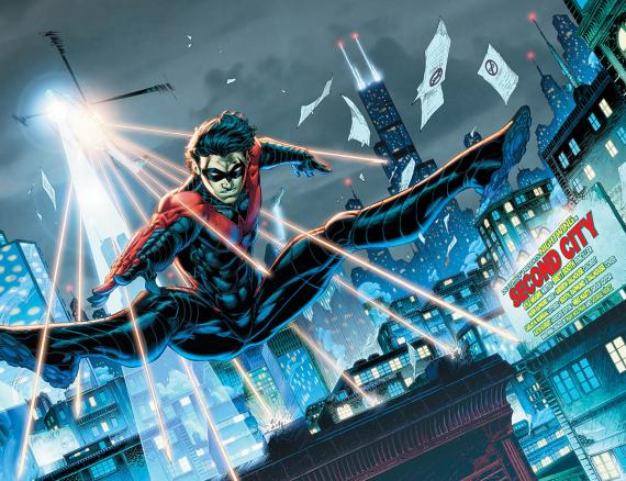 Nightwing #5: Requiem
