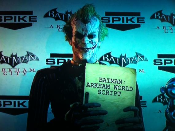 Posible primer adelanto del videojuego Batman: Arkham World