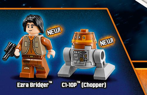 Set de Lego de Star Wars Rebels (2014)