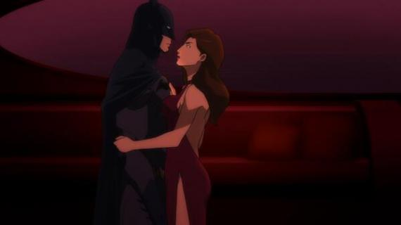 Imagen de Batman y Talia al Ghul en Son of Batman (2014)