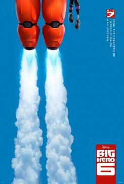 Teaser póster de Big Hero 6 (2014)