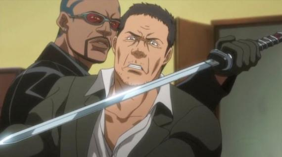 Captura del anime Blade (2012)