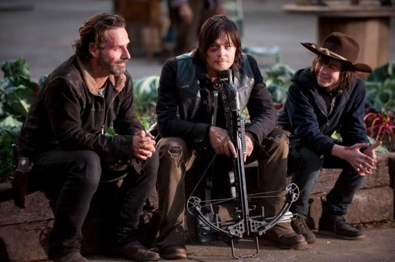 Imagen de la quinta temporada de The Walking Dead