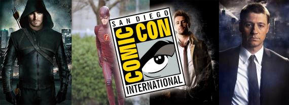 Arrow, The Flash, Gotham y Constantine se mostrarán en la San Diego Comic Con 2014