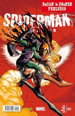 Portada del cómic español Spiderman Superior 92