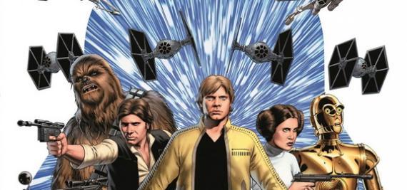 Imagen del cómic Star Wars, de Marvel Cómics para enero de 2015