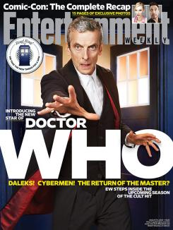 Doctor Who en la portada de Entertainment Weekly